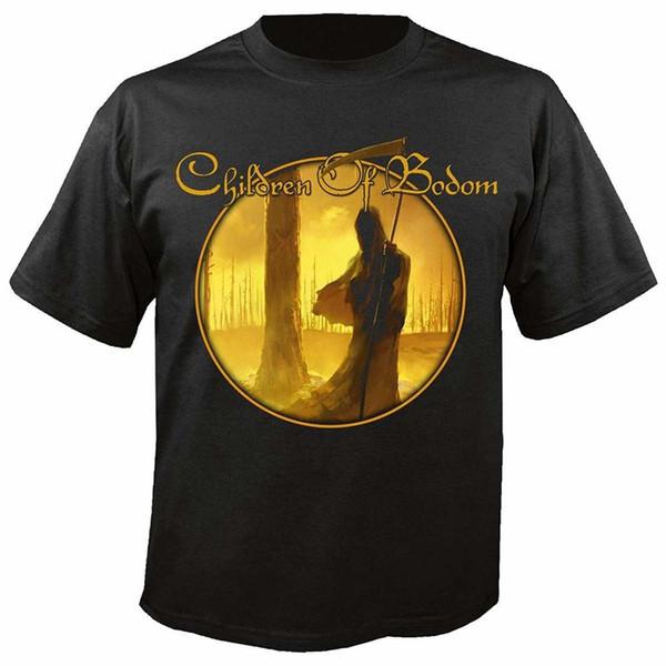 MAM Online Children of Bodom - Ich verehre Chaos - T-Shirt Gedruckt Männer T-Shirt Kurzarm Lustige T-shirts Top Tee Plus Size