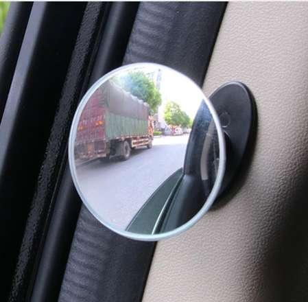 Car Wide Angle Round Convex Mirror Car Vehicle Side Blind Spot Mirror Wide Rear View Mirror Small Round r