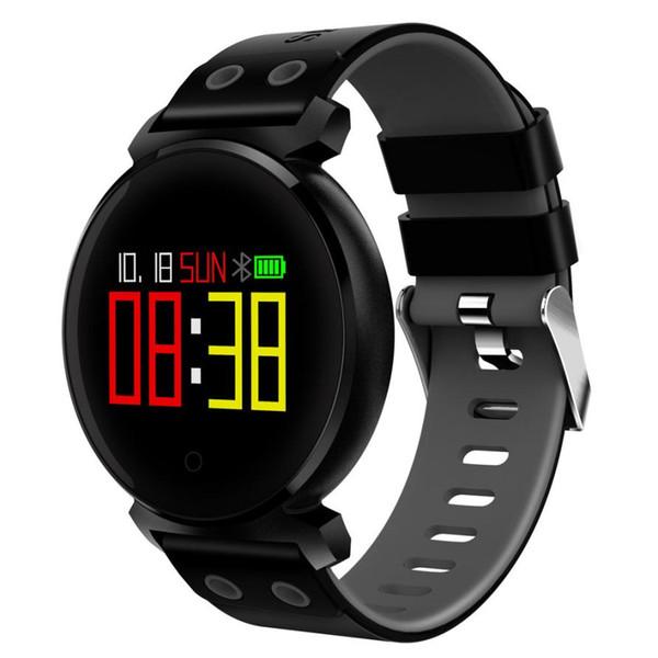 YENI Spor İzle K2 Renkli Ekran Kalp Hızı Kan Basıncı Spor IP68 IOS Android l0801 # 3 Için Akıllı Izle