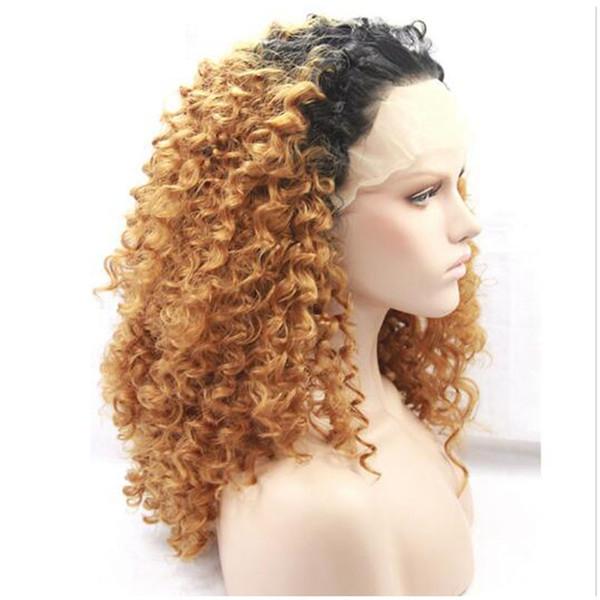 Acheter Longue Perruque Blonde Frisée Cré