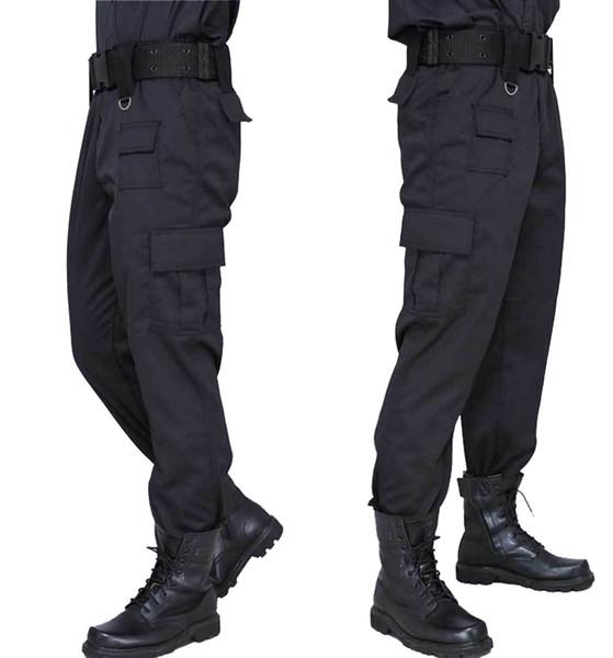 candd / Cargo Pant Männer Schwarz Hosen Stil Casual Pantalones Dünne Taktische Hosen Sicherheit Duty Arbeit Hosen Armee Overalls