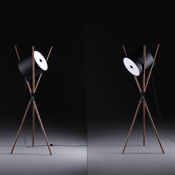 Modern Light Wooden Stand Led Floor Lamps Novelty Furniture Decorative Floor Lights Bedroom Bedside Living Room Standing Lamps