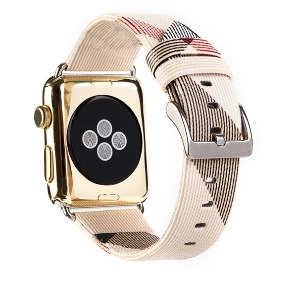 Apple Watch Band Series 3/2/1 Leather Iwatch Strap Replacement Band with Stainless Metal Classic Buckle bracelet accessories