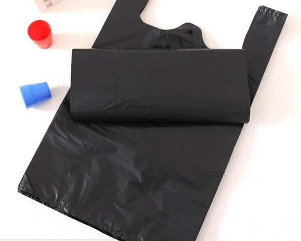 Black garbage bag black garbage bag family kitchen hotel office disposable garbage bag 50 pieces/bag 32cm* length 52cm * width 30cm* length
