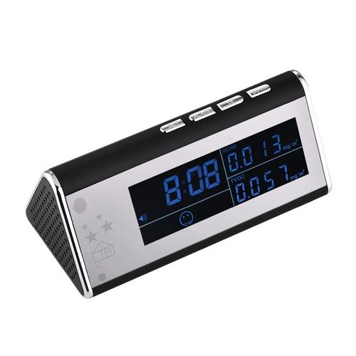 T12 1080P HD WIFI IR Night Vision Clock camera Wireless alarm clock camera For Home Security Device baby monitor