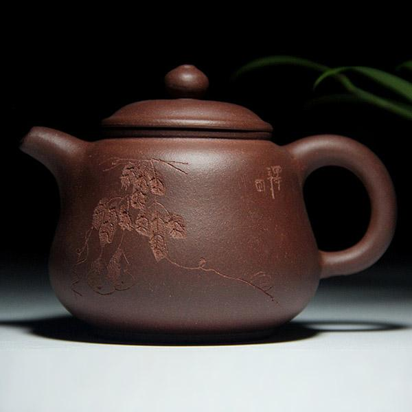 Handgemachte Yixing Zisha Teekanne Chinesische Yixing Lila Ton Teekanne Guten Geburtstag Geschenk Teezeremonie Werkzeug
