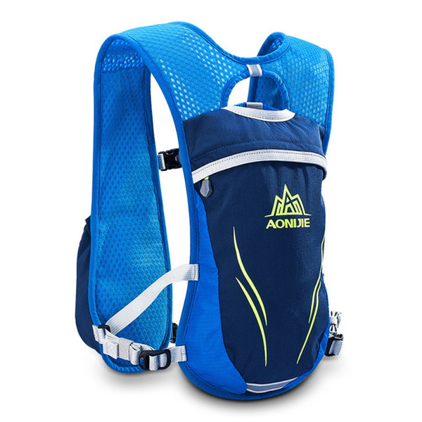 AONIJIE Running Vest Marathon Hydration Outdoor Running Bags For 1.5L Water Bladder Hiking Camping Sport 5.5L