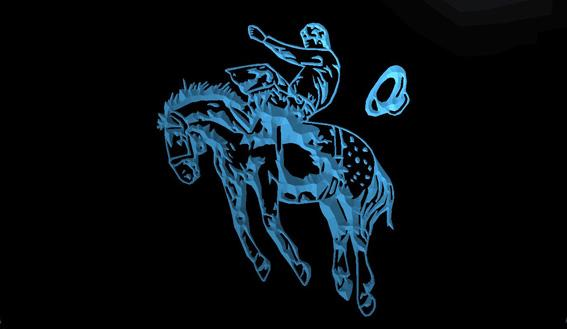 LS1049-b-Western-Cowboys-Horse-Neon-Light-Sign Decor Free Shipping Dropshipping Wholesale 8 colors to choose