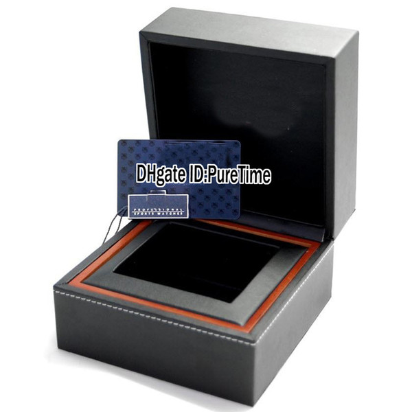 Hight Quality TAGBOX Gray Leather Watch Box Wholesale Mens Womens Watches Original Box With Certificate Card Gift Paper Bags 02 Puretime