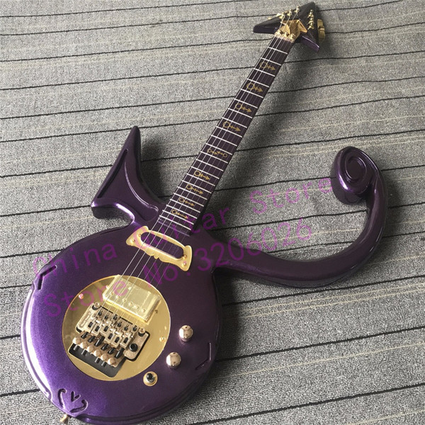 Custom shop Prince Electric Guitar Love Symbol model All colors available Free shipping Maple neck Maple fretboard Mahogany body