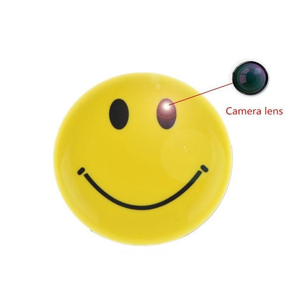 8 GB bellek Dahili Gülen Yüz Broach Kamera Mini Kameralar Ses Video Kaydedici CCTV Araba DVR kamera Desteği TV çıkışı PQ152