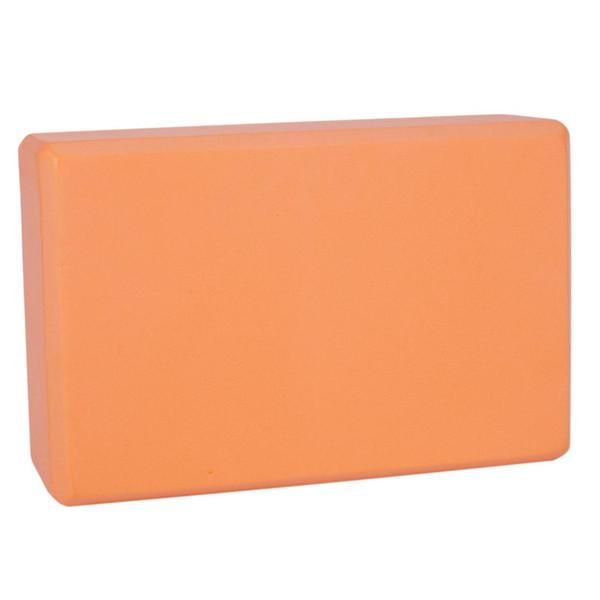 Yoga brick, eva exercise exercise block Yoga brick Gym workout stretching (orange)