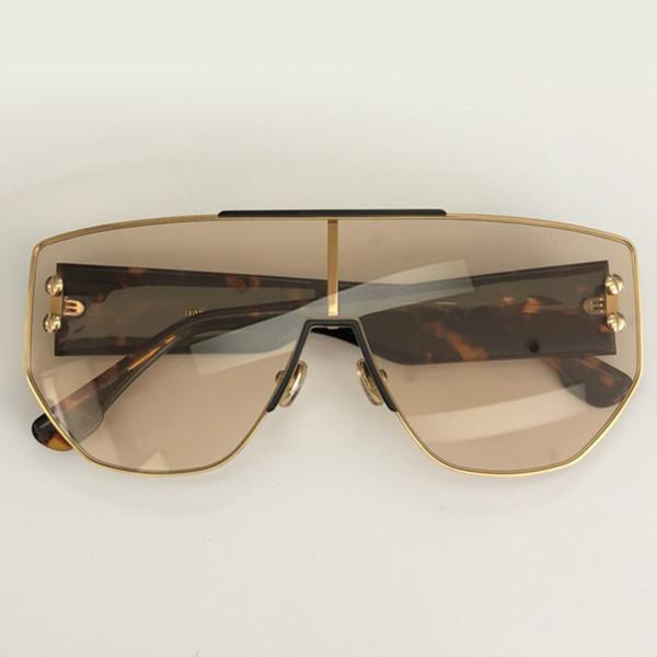 dc2a0b56365 Man Fashion Sunglasses Woman Brand Designer High Quality Big Frame Flat  Sunglasses Mirror Sun Glasses Oculos Female Eyewear