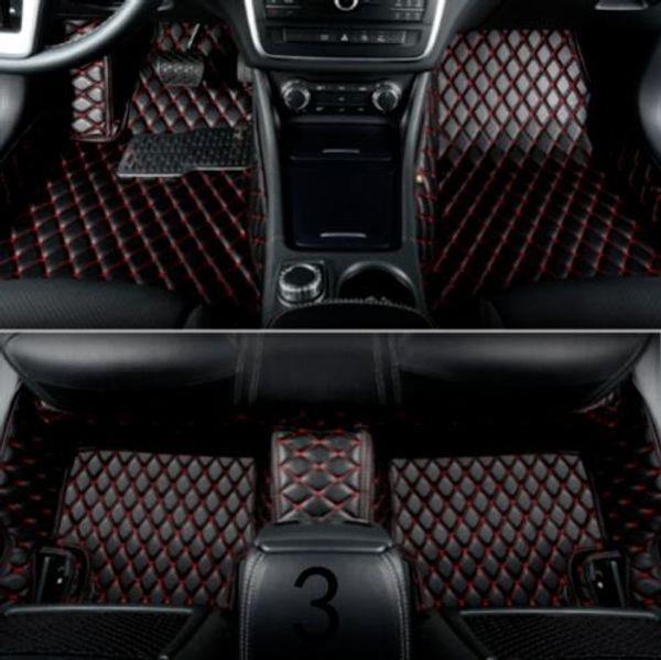 Jaguar-E-Pace F-Pace F-Type XE XF XFR XFR-S XJ XJR XK XKR XKR-S car floor mat
