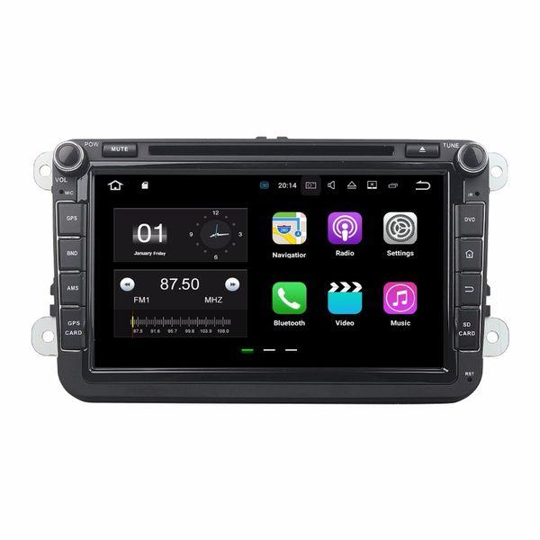 "8"" Android 7.1.2 Car Radio DVD GPS Multimedia Head Unit Car DVD for Volkswagen VW Caddy Golf Jetta Polo Sedan Touran Passat EOS Skoda"
