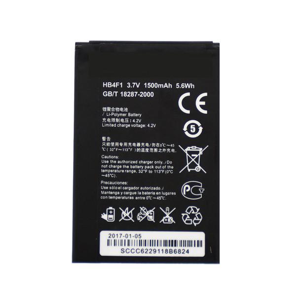 HB4F1 Nuova batteria di ricambio agli ioni di litio 3.7V 1500mAh per Huawei U8800 T8808D G306T C8800 C8600 U8520 E5830 E5-0315 E586 ET536 E585 E5331 akku