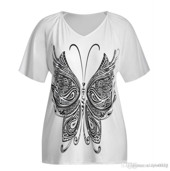 Summer European Girl T-shirt Vêtements Glands À Manches Courtes T-shirts Pour Femmes En Gros de Couleur Unie T-shirts Femme Livraison Gratuite Grande taille