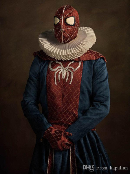 Free Shipping Spider Man Comic Super Heros Flamands Art Print Poster 24x36 Art Posters Prints Home Decor Wall Paper 16 24 36 47 inches