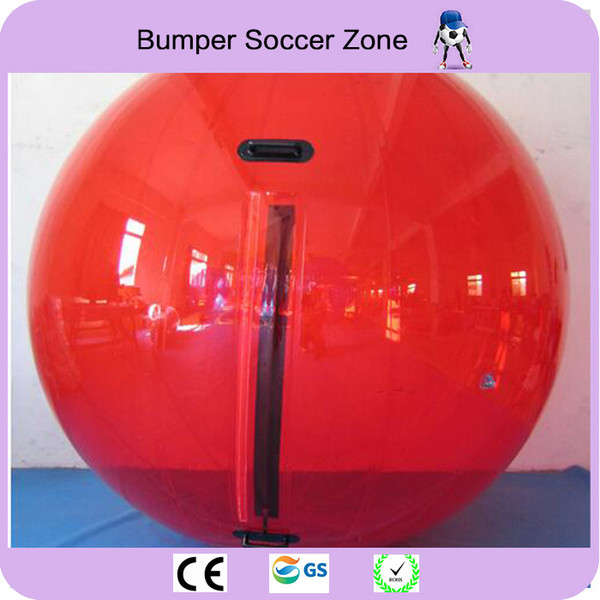 Free Shipping 100% 0.8mm PVC Water Zorb Ball Water Polo Ball Inflatable Water Walking Ball 2M Diameter