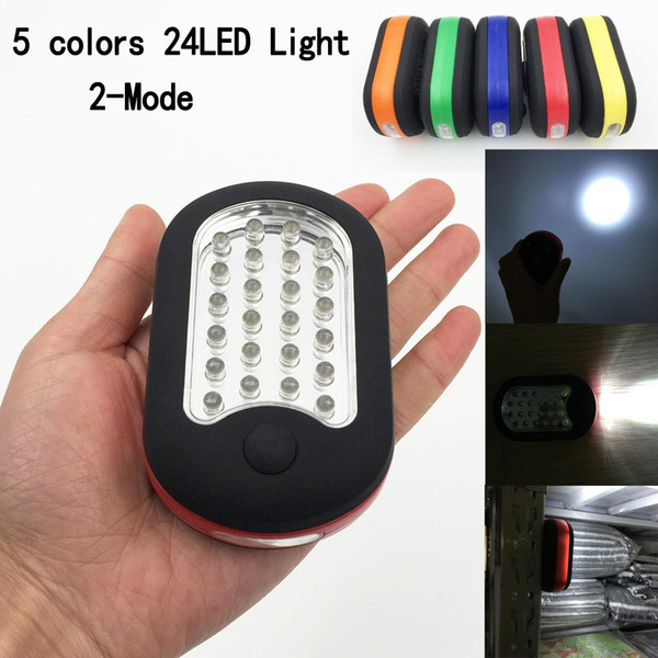 Multifunction 27 LED Home Work Light Bivouac Camping Hiking Tent Lamp Magnetic Flashlight With Hanging Hook Emergency Lights Outdoor Lamp