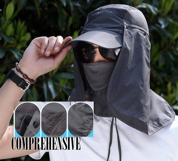 Cover Neck Sport UV Cap Women Men Outdoor Flap Sun Protection Hat Fishing