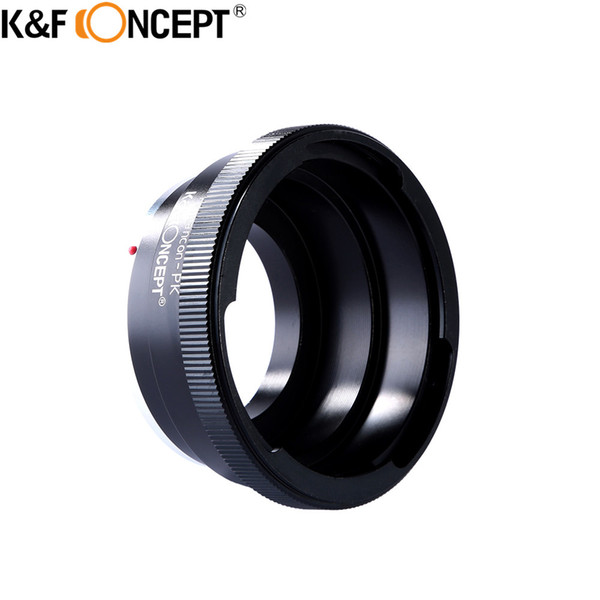 K&F CONCEPT for Pentacon-PK Camera Lens Mount Adapter Ring For Kiev 60/Pentacon 6 Mount Lens To Pentax K Camera Body