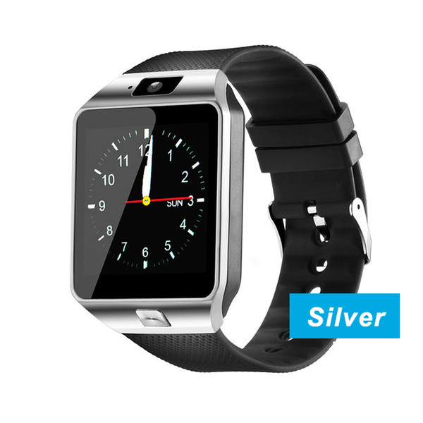 DZ09 smart watch_Silver