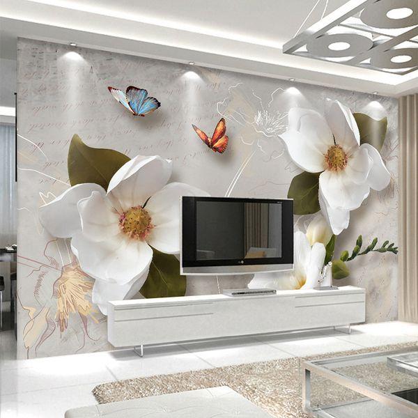 Großhandel Benutzerdefinierte Wandbild Tapete 3d Stereo Relief ...