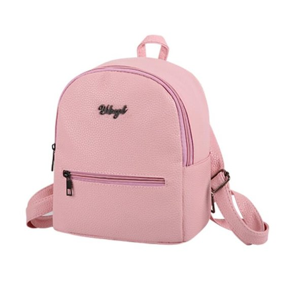 brand new PU soft leather women casual small packet preppy style girls rucksacks female shopping bags ladies backpacks