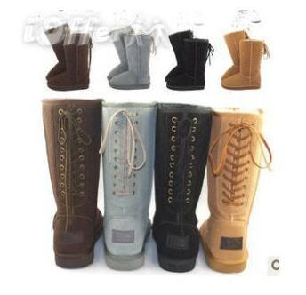 NEW 2018 High Quality ! Brand Women Boots Snow Boots ol Women Shoe Cute Winter High boots free shipping #816