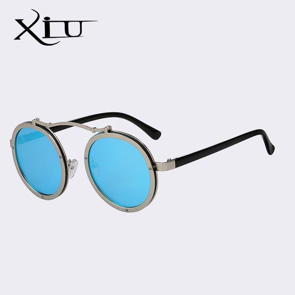Blaue Spiegellinse