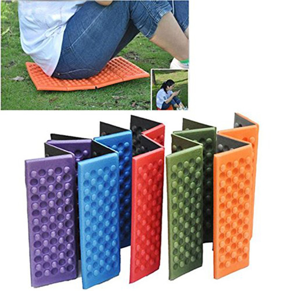 Fine Foldable Folding Outdoor Camping Mat Seat Foam Xpe Cushion Portable Waterproof Chair Beach Picnic Mat Seat Hiking Activities Pad Outdoor Chair Pads Cjindustries Chair Design For Home Cjindustriesco