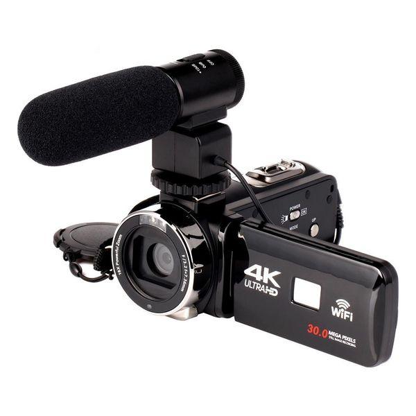 2018 WIFI 4K видеокамера 16-кратный зум 3.0 HD сенсорный экран 24 мегапикселя с инфракрасно