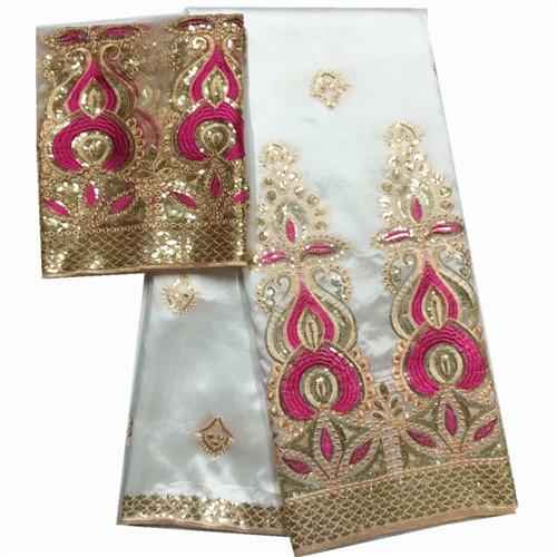 high class hole design george lace fabric indian george wrappers african raw silk george lace fabric Give 2 yards tulle lace