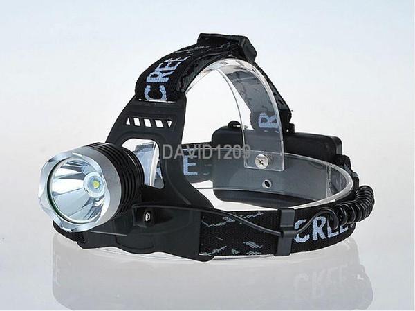 Bright light LED Headlamp headlight cree t6 flashlight Head torch Lamp Ligh headlamps for Hunting Camping bike