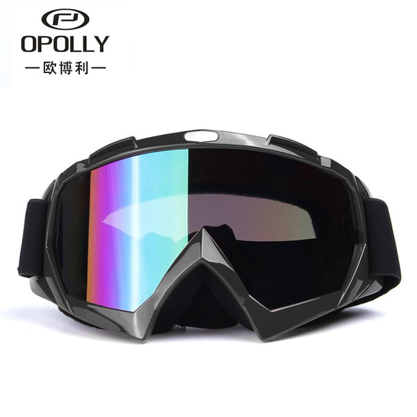 New outdoor Dazzling men and women motorcycle off-road windproof sand goggles ski glasses cross-country goggles