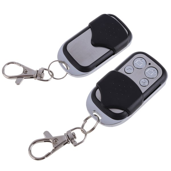 ccessories Parts Remote Control 4 Channels RF Wireless Remote Control Learning Copy Fixed Code System Key 433MHz For Garage Doors/Cars/Ga...
