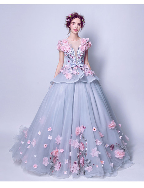 2018 Luxury Colorful Prom Dress The Banquet Sweet robe de soiree Long Party Formal Gown Custom 6692