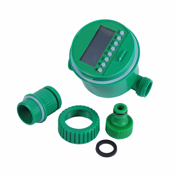 Plastic Garden Irrigation Controller Watering Programs Automatic Digital LCD Electronic Irrigation Timer Home Water Timer LZ1025