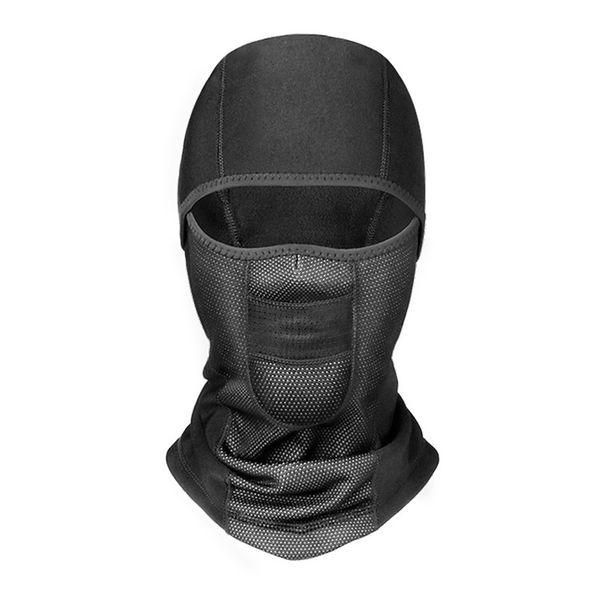 2018 nuovo cappello caldo invernale moto impermeabile antivento maschera cappello collo casco bicicletta accessorio sport mtb E1023