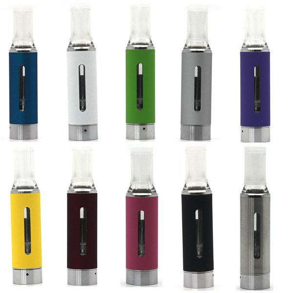 MT3 Clearomizer EVOD Atomizer Cartomizer 2.4ml Tank For Ego-t Evod E Cigarette 510 Thread Cartridge Tanks All Colors Instock High Quality
