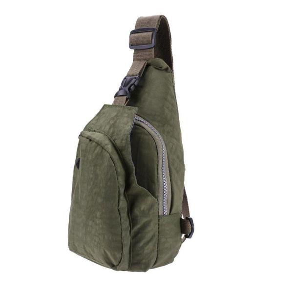 Nylon Unisex Crossbody Chest Packs Travel Sport Shoulder Messenger Crossbody Bags for Women Sling Shoulder Bag