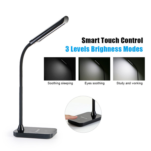 LED Table Lighting Desk Lamps Flexible Stand Touch Lighting Classic Modern Working Reading Studying Office Bedroom Use