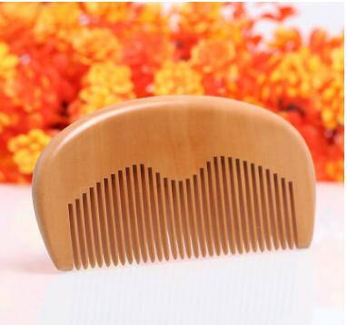Custom Private Label Brand Your LOGO Customized Combs Laser Engraved Logo Wood Comb Beard Comb Wooden Hair Comb Mens Grooming Business Gifts