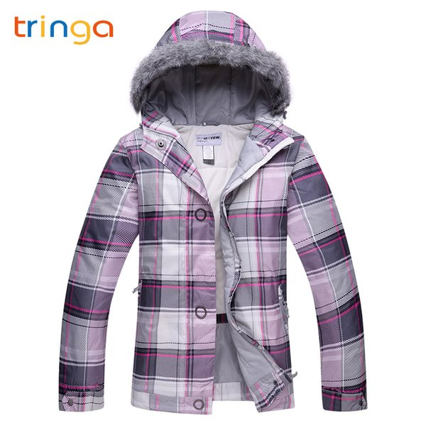 TRINGA High Quality Winter Ski suit 2018 New Hot Women Ski Jacket Snow Warm Waterproof Windproof Skiing And Snowboarding Suits