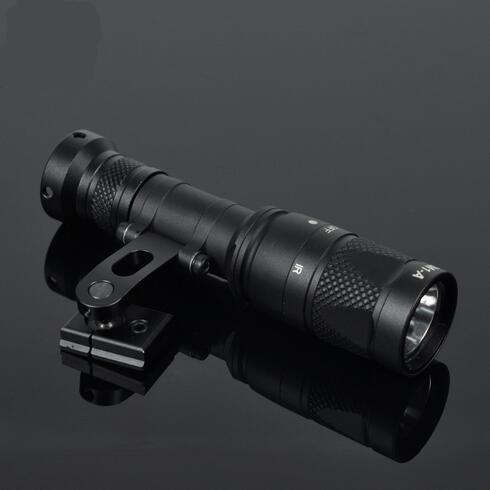 Tactical IR Light NV Night Evolution M300 M300V Infrared Scout Light IR Illuminator Spotlight for ARC Helmet Rail