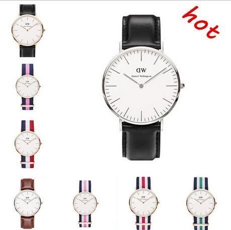 New Best seller Mens womens Daniel Wellington Bracelet watches Men watches Women Watches Brand Quartz dz Watch Relogio Montre Femme dz box
