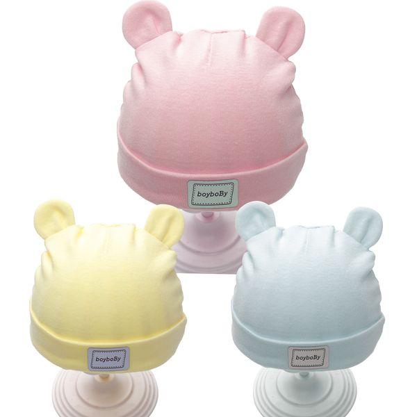 Solid Coon Neugeborenen Baby Reifen Caps Mit Ohr Mädchen Jungen Sonnenhüte Mit Bogen 2018 Frühling Sommer Baby Mädchen Kleidung Zubehör