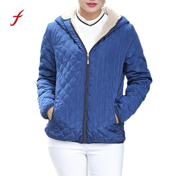 2018 Winter Clothes Womens Warm Coat Hooded Jacket Slim Winter Parka Outwear Coats