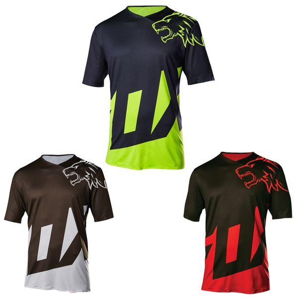2018 motocross NEW Downhill jersey Motocross Mtb dh Men DH MX Clothing  Short Sleeve MTB Shirt Mountain Bike Riding Long Jersey a15f545e8